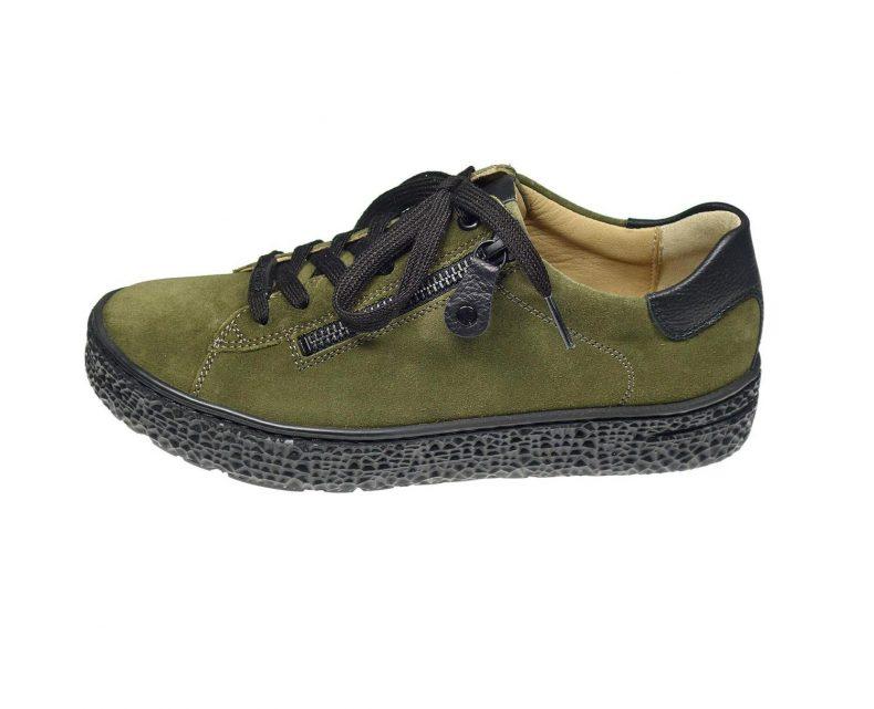 Schuh: Hartjes - Lena oliv