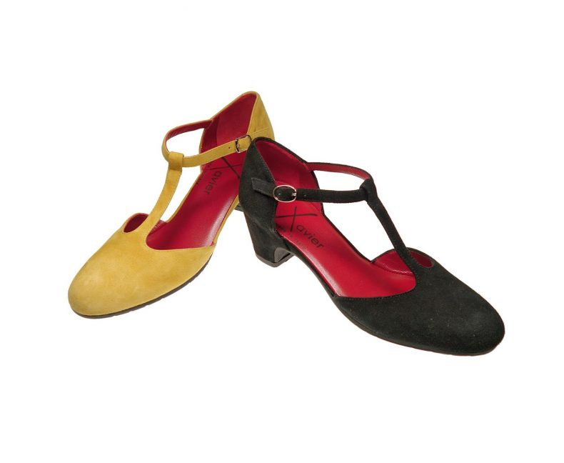 Schuhe: Xavier - Carina (gelb)