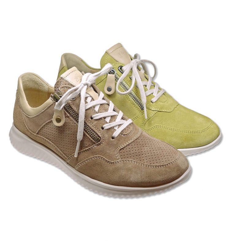 Schuhe von Hartjes - Laura camel/cedre