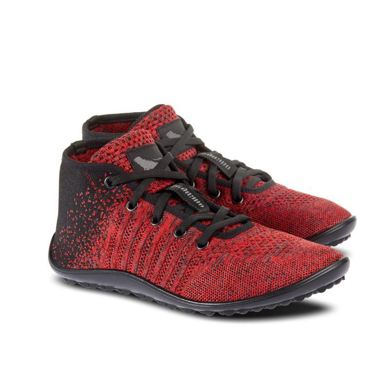 Schuh von Leguano - Go mixed red