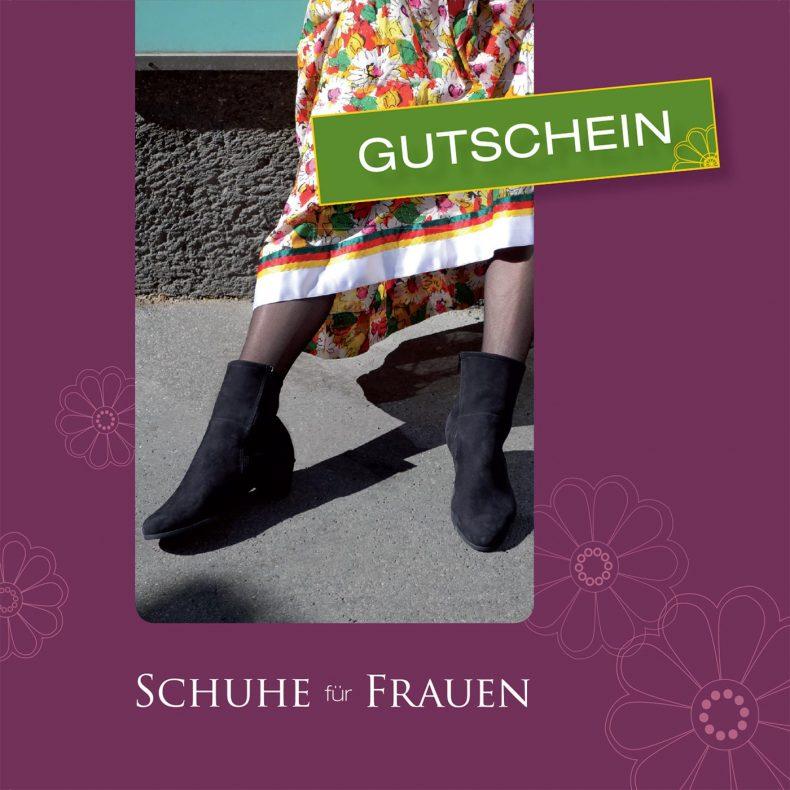 Gutschein - Schuhe für Frauen